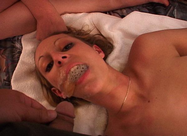 sicflics mouthful of piss